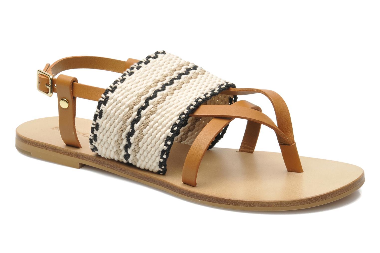 Sandales et nu-pieds See by Chloé Kenna II Multicolore vue détail/paire