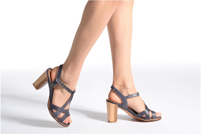 Sandales et nu-pieds Neosens Gloria 193 Bleu vue bas / vue portée sac