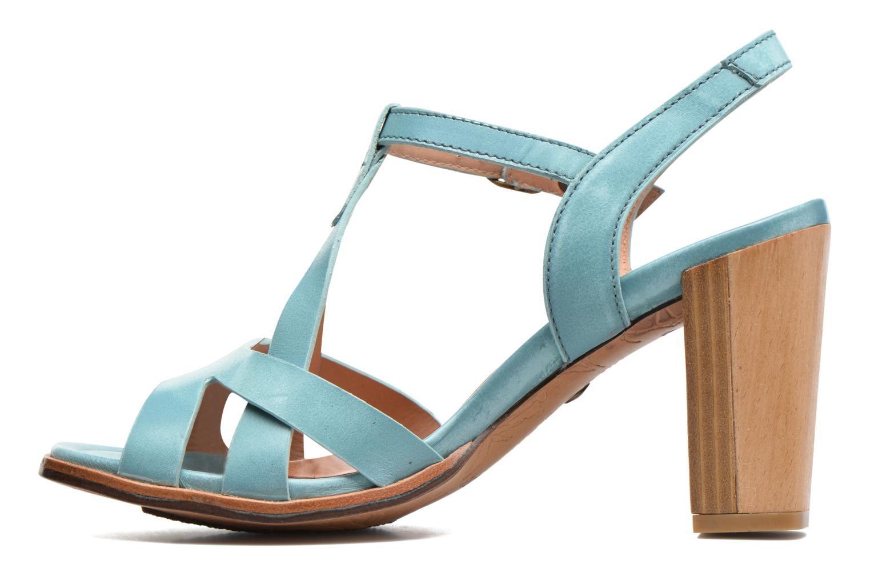 Sandales et nu-pieds Neosens Gloria 193 Bleu vue face