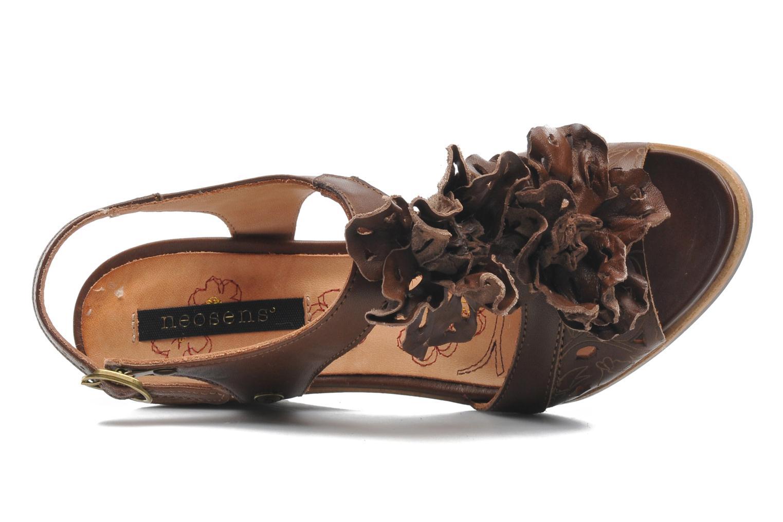 Sandales et nu-pieds Neosens Noah 229 Marron vue gauche