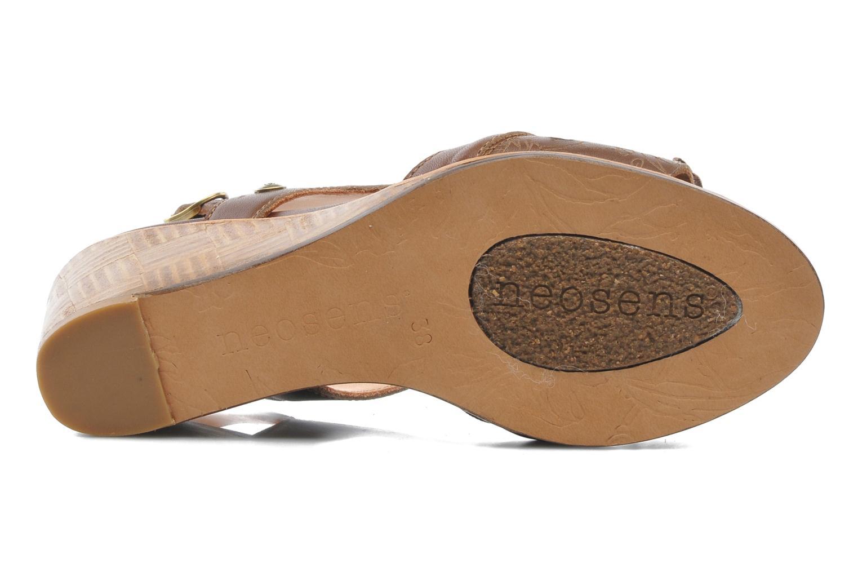 Sandalen Neosens Noah 229 braun ansicht von oben
