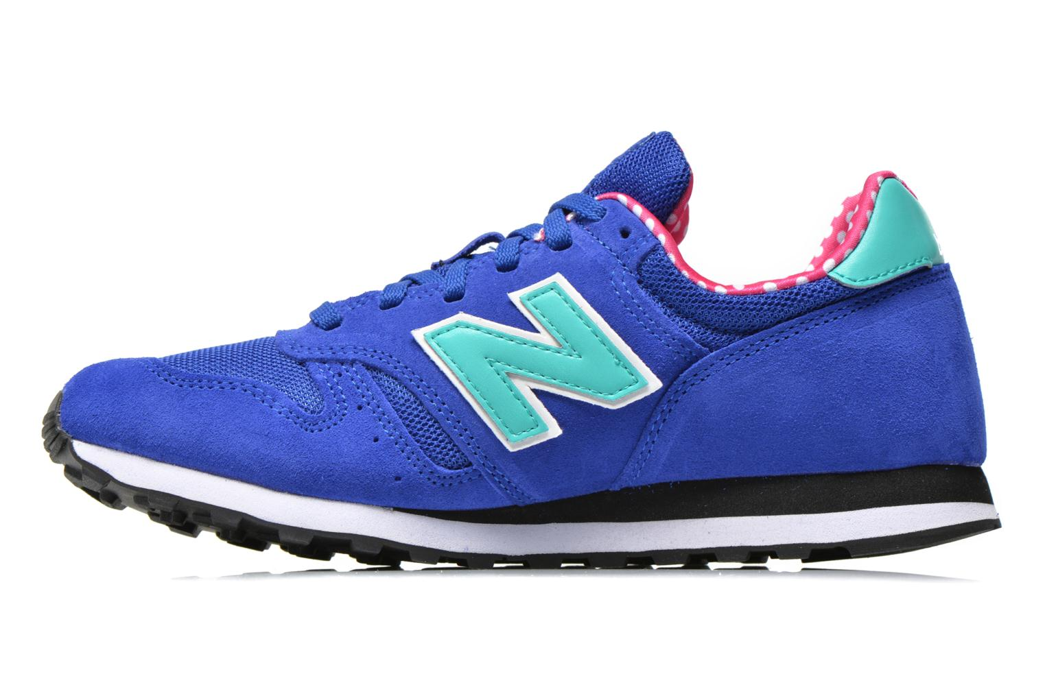 Trainers New Balance WL373 Blue front view