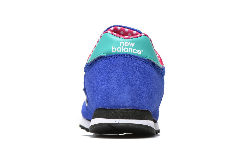 Sneaker New Balance WL373 blau ansicht von rechts