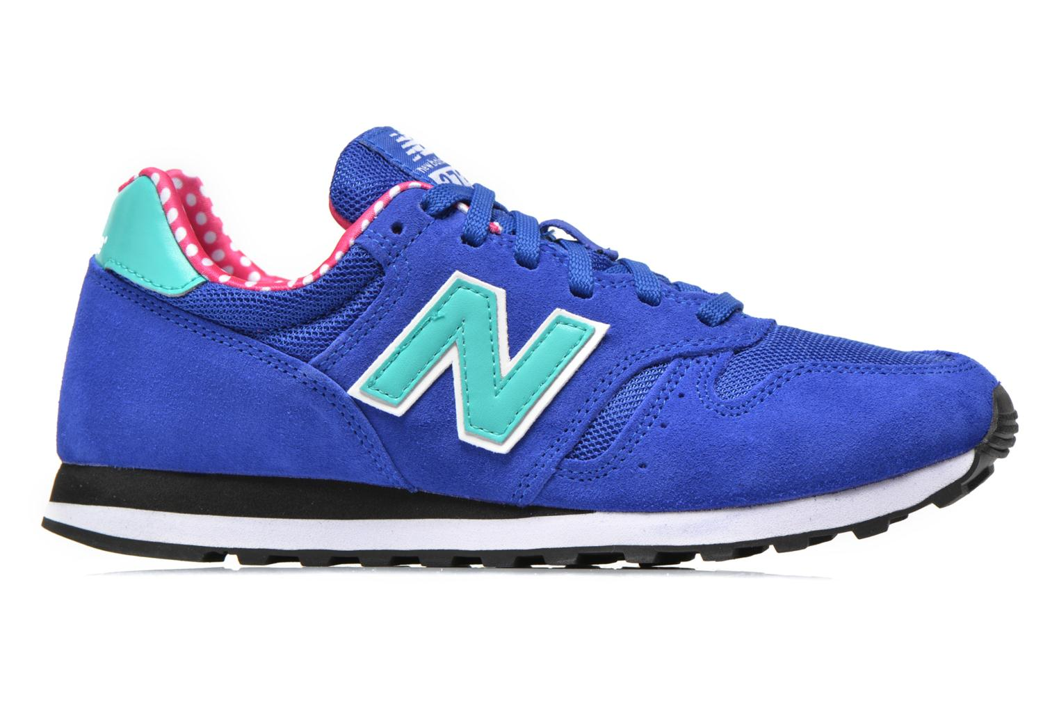 Trainers New Balance WL373 Blue back view