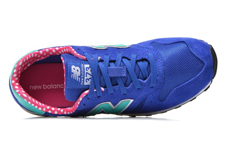 Sneaker New Balance WL373 blau ansicht von links