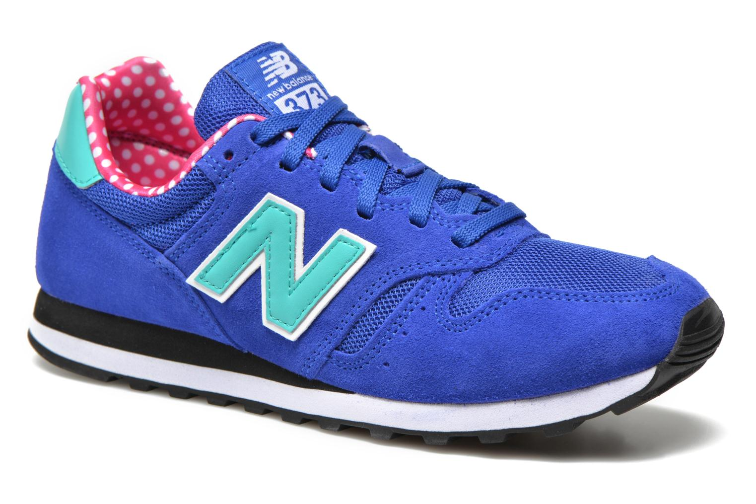 Trainers New Balance WL373 Blue detailed view/ Pair view