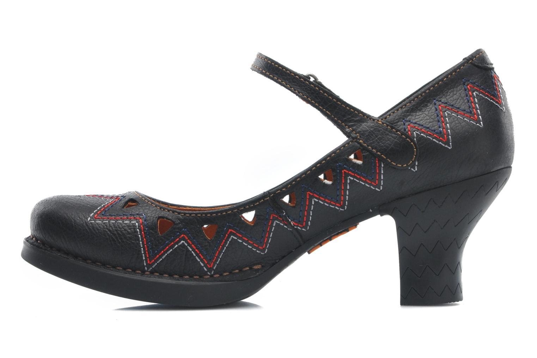 Zapatos de tacón Art Harlem 943 Negro vista de frente