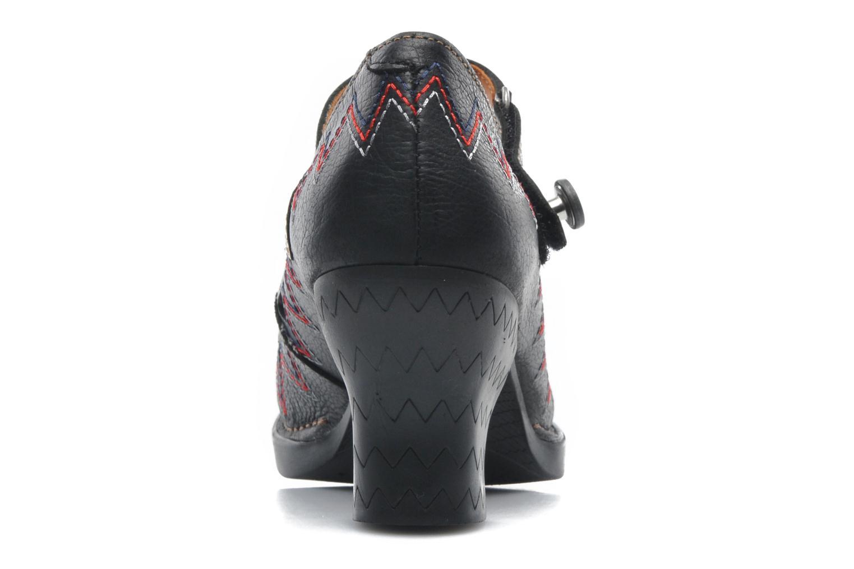 Zapatos de tacón Art Harlem 943 Negro vista lateral derecha