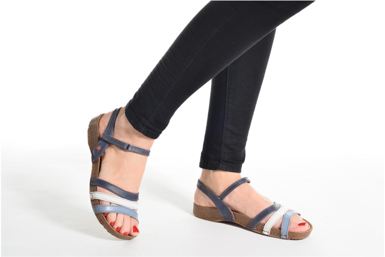 Sandalen Art I Breathe 998 blau ansicht von unten / tasche getragen