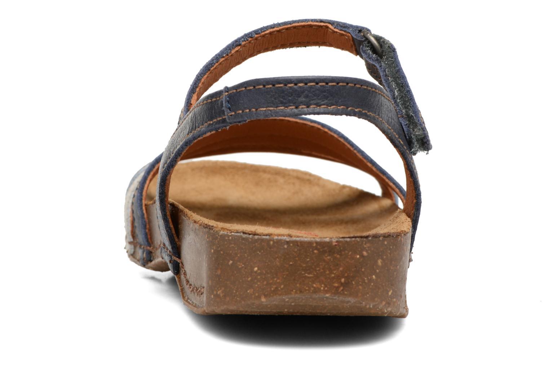 Sandaler Art I Breathe 998 Blå Bild från höger sidan