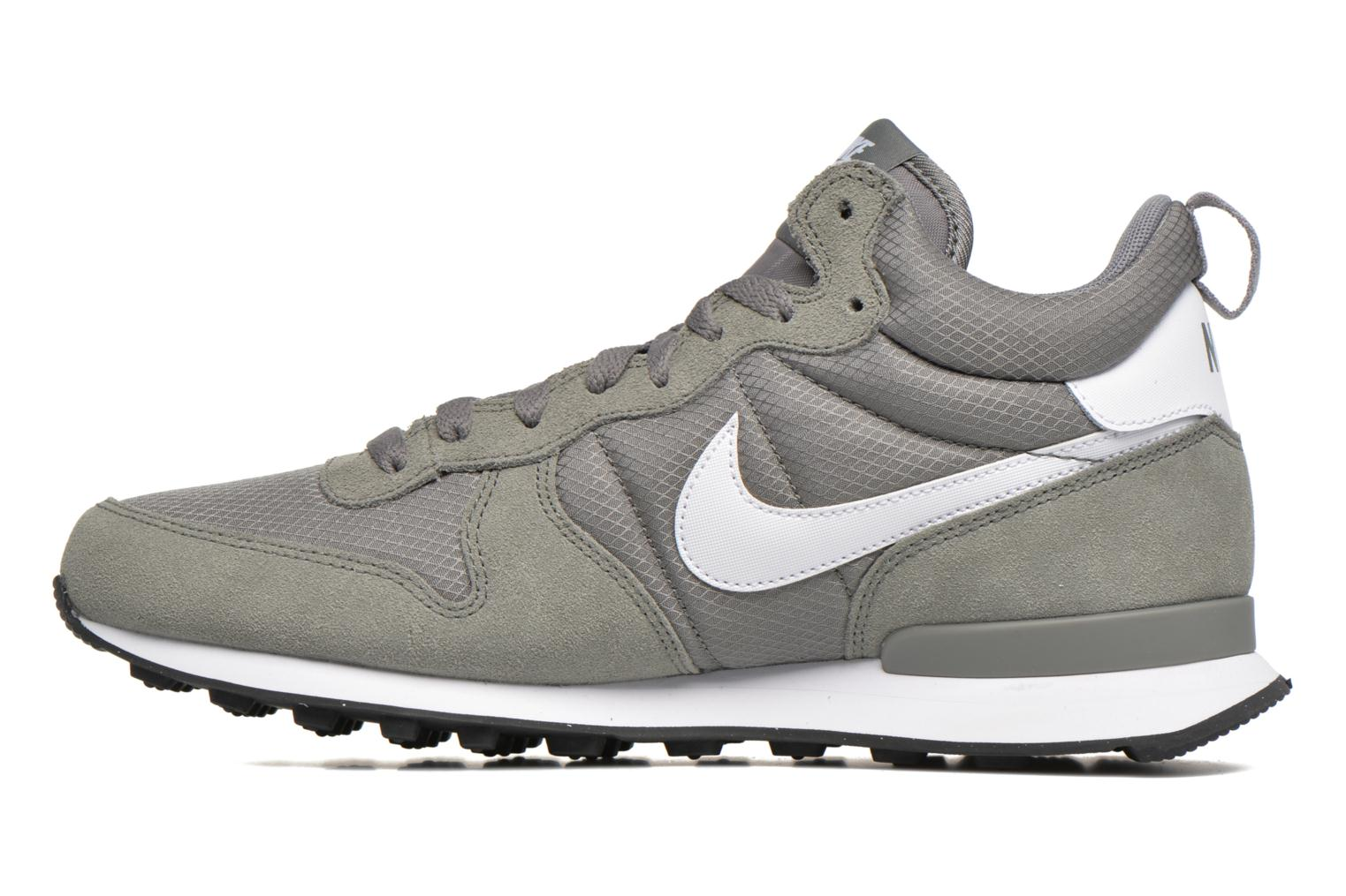 Trainers Nike Nike Internationalist Mid Grey front view