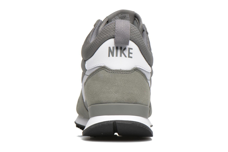 Nike Internationalist Mid Tumbled Grey/White-White-Total Orange