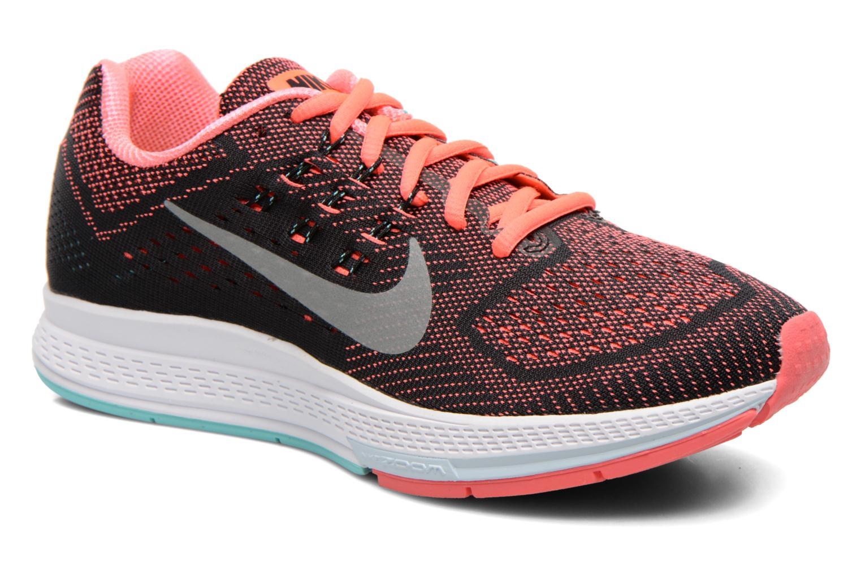W Nike Air Zoom Structure 18 Ht Lava/Mtllc Slvr-Lght Aq-Blk