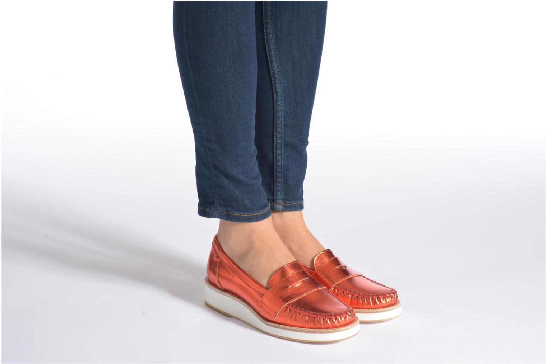 Loafers MAURICE manufacture Basso Blå bild från under