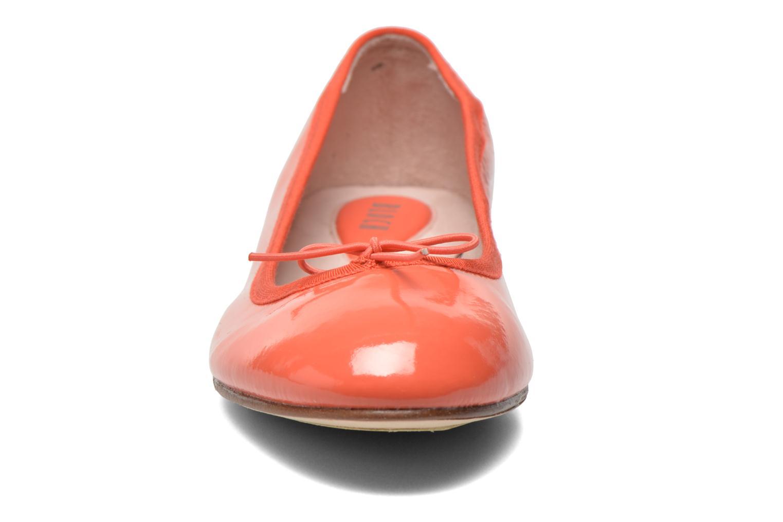 Ballerines Bloch Soft Patent ballerina Orange vue portées chaussures