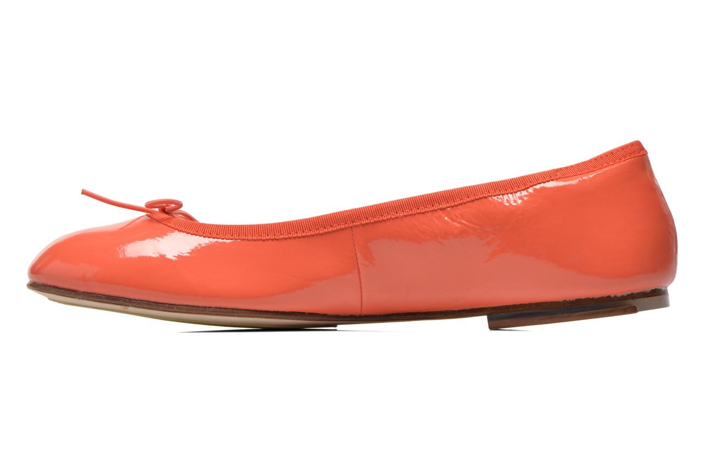 Ballerines Bloch Soft Patent ballerina Orange vue face