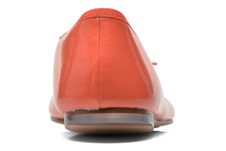 Ballerines Bloch Soft Patent ballerina Orange vue droite