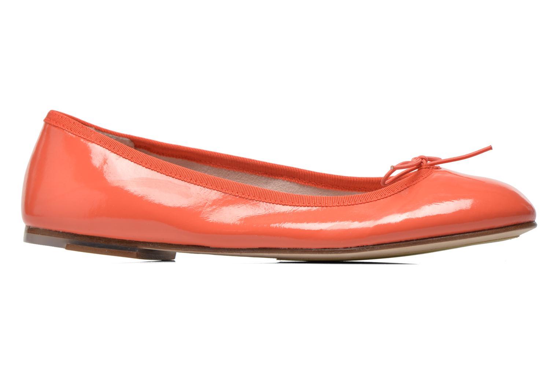 Ballerines Bloch Soft Patent ballerina Orange vue derrière