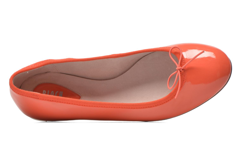 Ballerines Bloch Soft Patent ballerina Orange vue gauche
