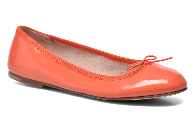 Ballerines Bloch Soft Patent ballerina Orange vue détail/paire