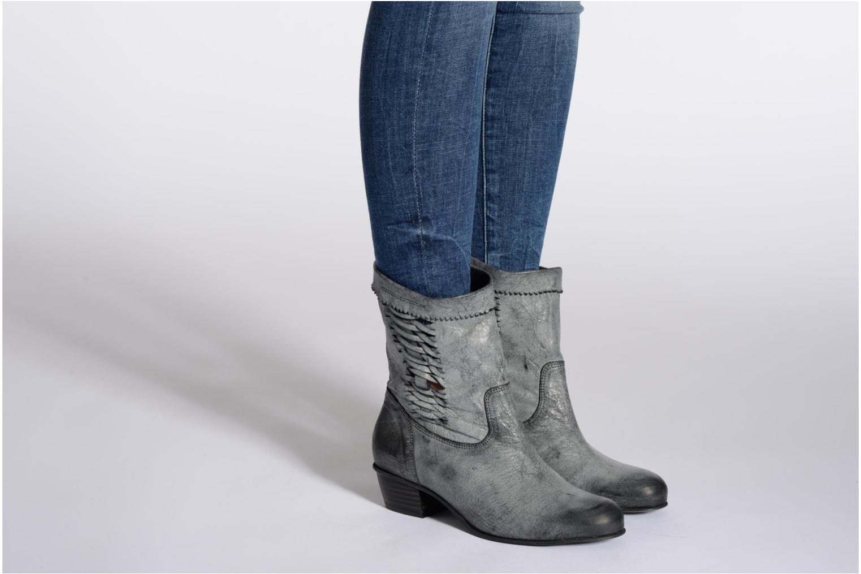Bottines et boots Dkode Nadine Noir vue bas / vue portée sac