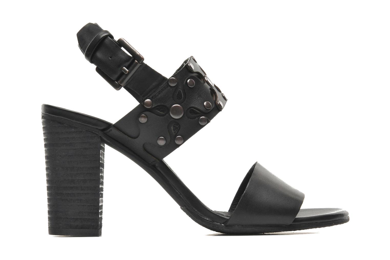 Sandales et nu-pieds SPM Gerbil Noir vue derrière