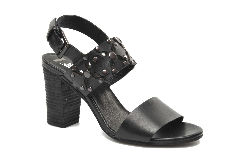Sandales et nu-pieds SPM Gerbil Noir vue détail/paire