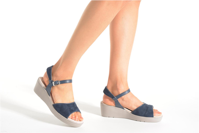 Sandales et nu-pieds Stonefly Tess 1 Bleu vue bas / vue portée sac