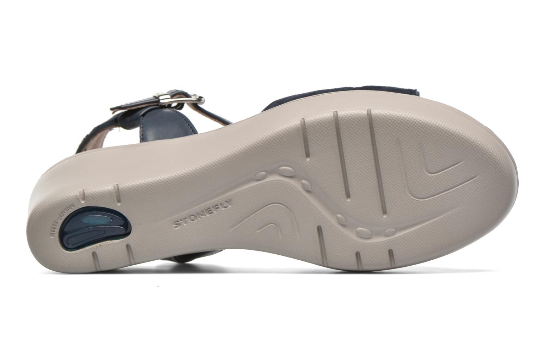 Sandales et nu-pieds Stonefly Tess 1 Bleu vue haut