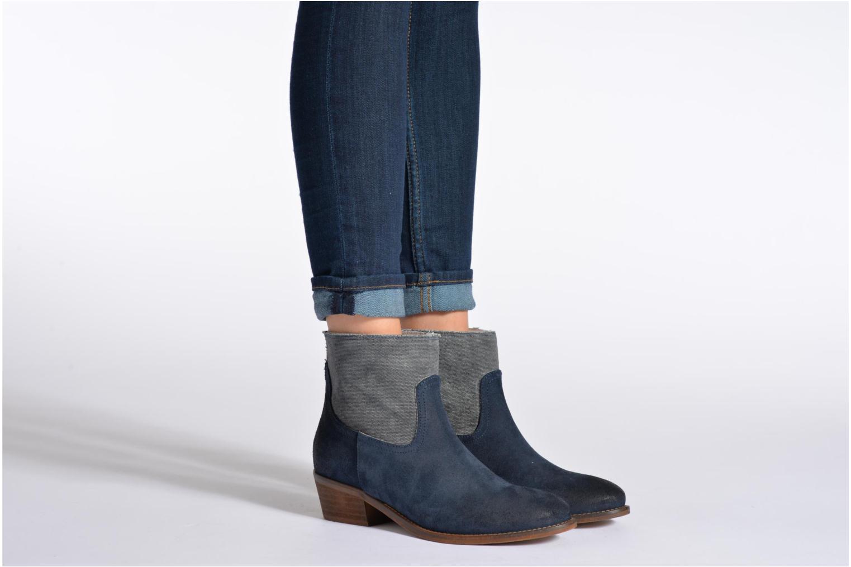Stiefeletten & Boots Méliné Catch braun ansicht von unten / tasche getragen