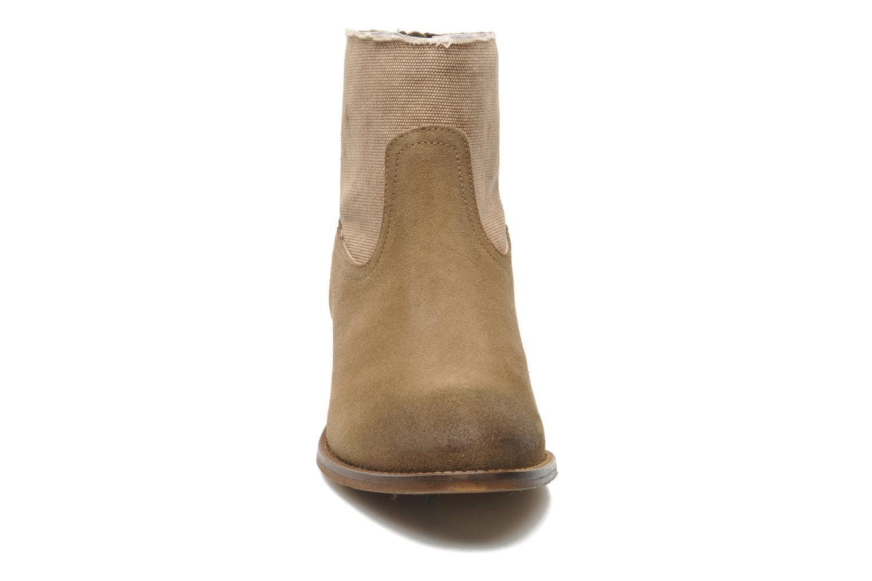 Stiefeletten & Boots Méliné Catch braun schuhe getragen
