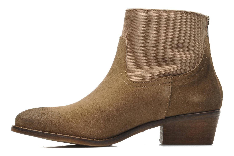 Boots en enkellaarsjes Méliné Catch Bruin voorkant