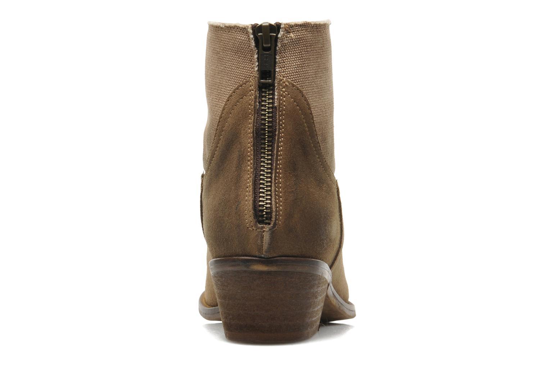 Boots en enkellaarsjes Méliné Catch Bruin rechts