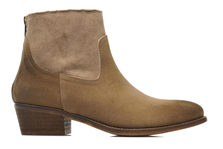 Boots en enkellaarsjes Méliné Catch Bruin achterkant