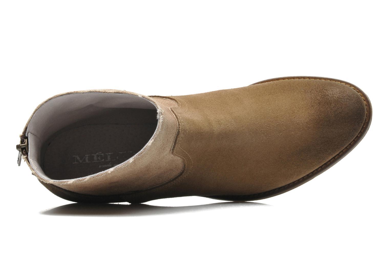 Boots en enkellaarsjes Méliné Catch Bruin links
