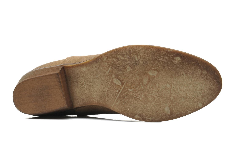Bottines et boots Méliné Catch Marron vue haut
