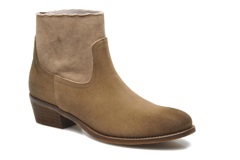 Boots en enkellaarsjes Méliné Catch Bruin detail