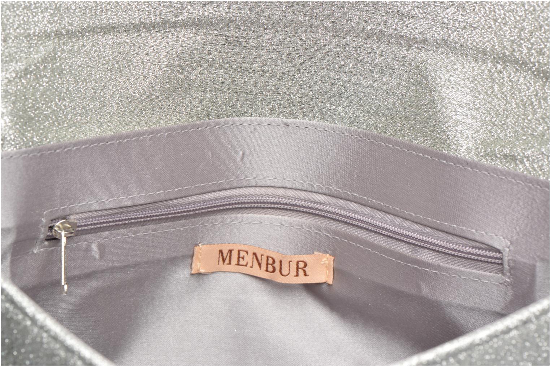 Pochette Menbur Gove Argento immagine posteriore