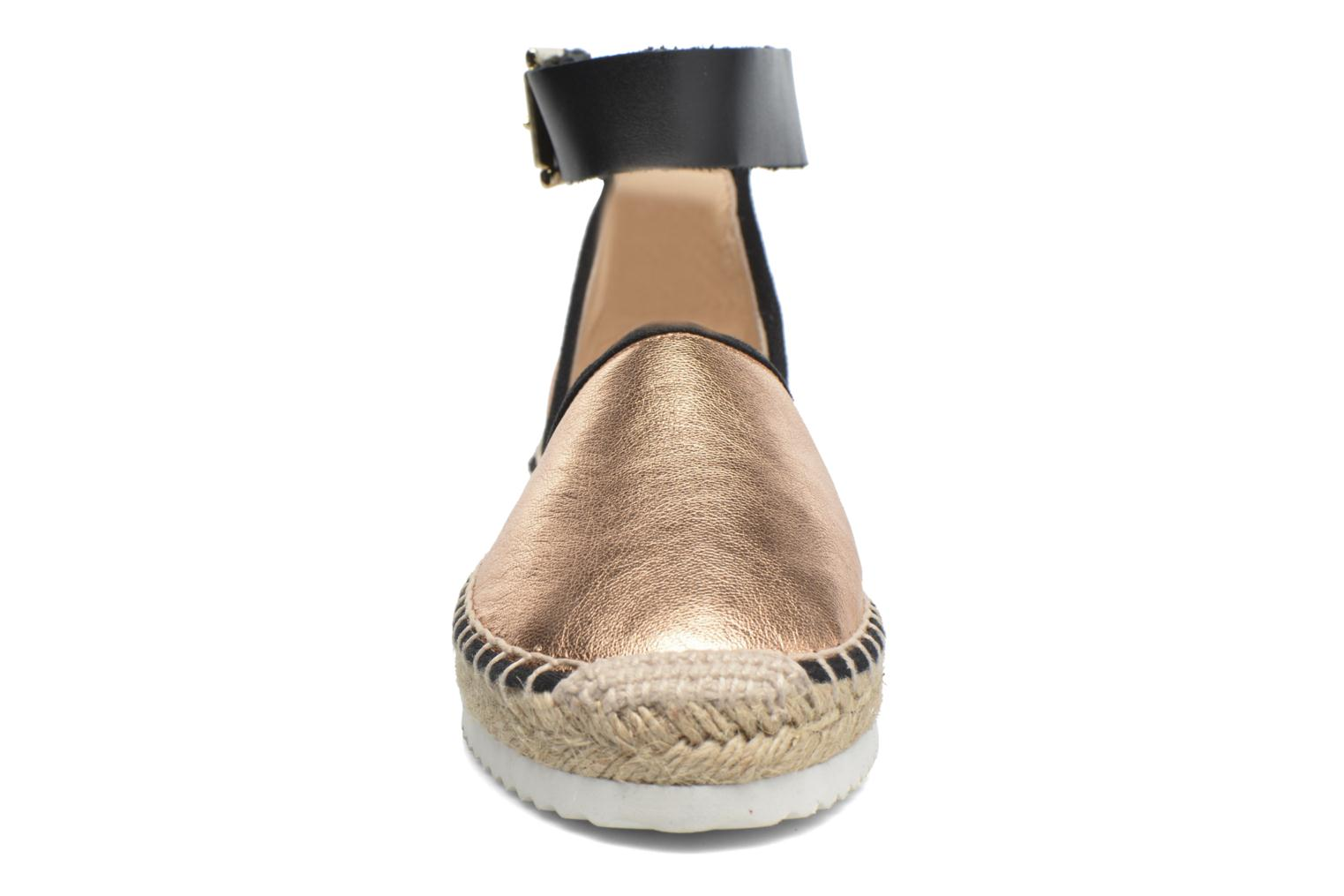 Sandals Anaki Chica Bronze and Gold model view