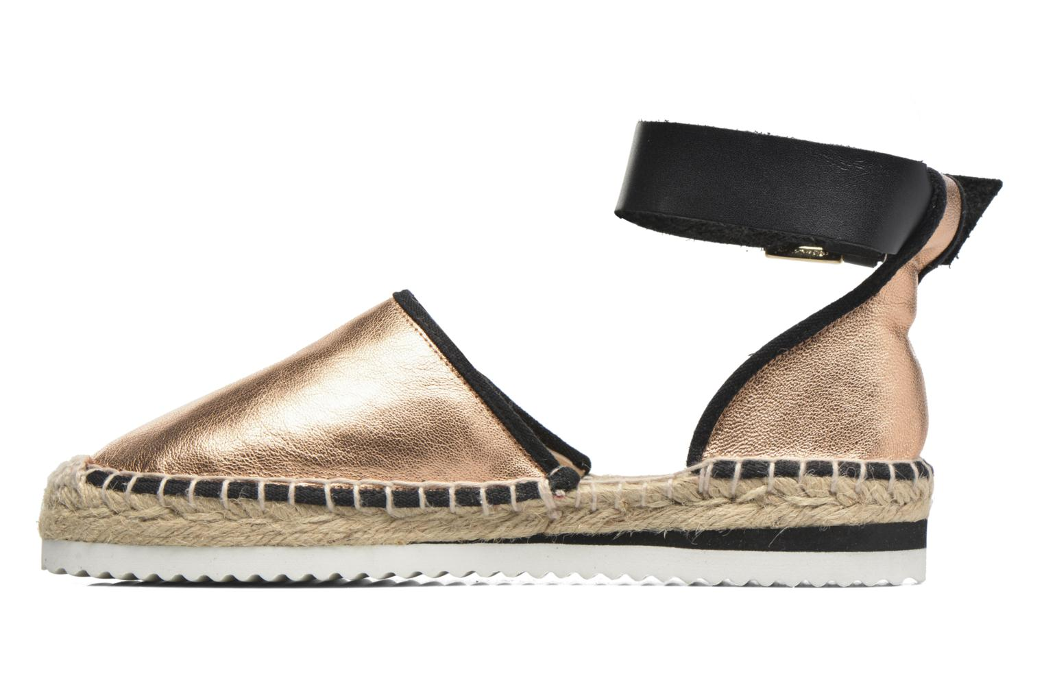 Sandals Anaki Chica Bronze and Gold front view
