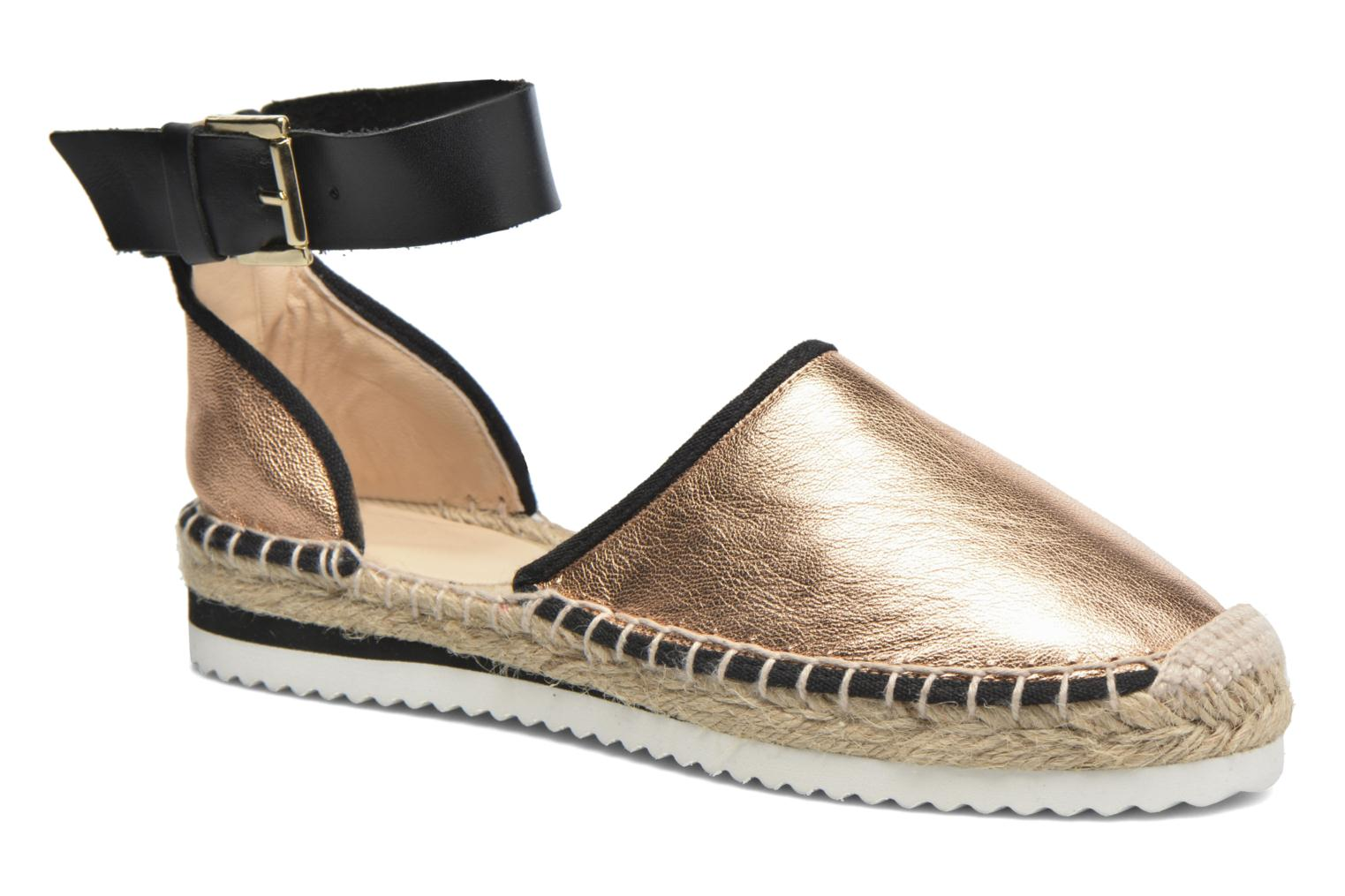 Sandals Anaki Chica Bronze and Gold detailed view/ Pair view