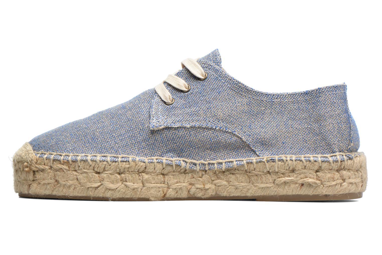 Snörade skor Anaki Sable Blå bild från framsidan