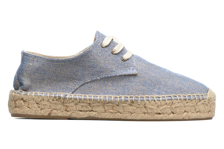 Snörade skor Anaki Sable Blå bild från baksidan
