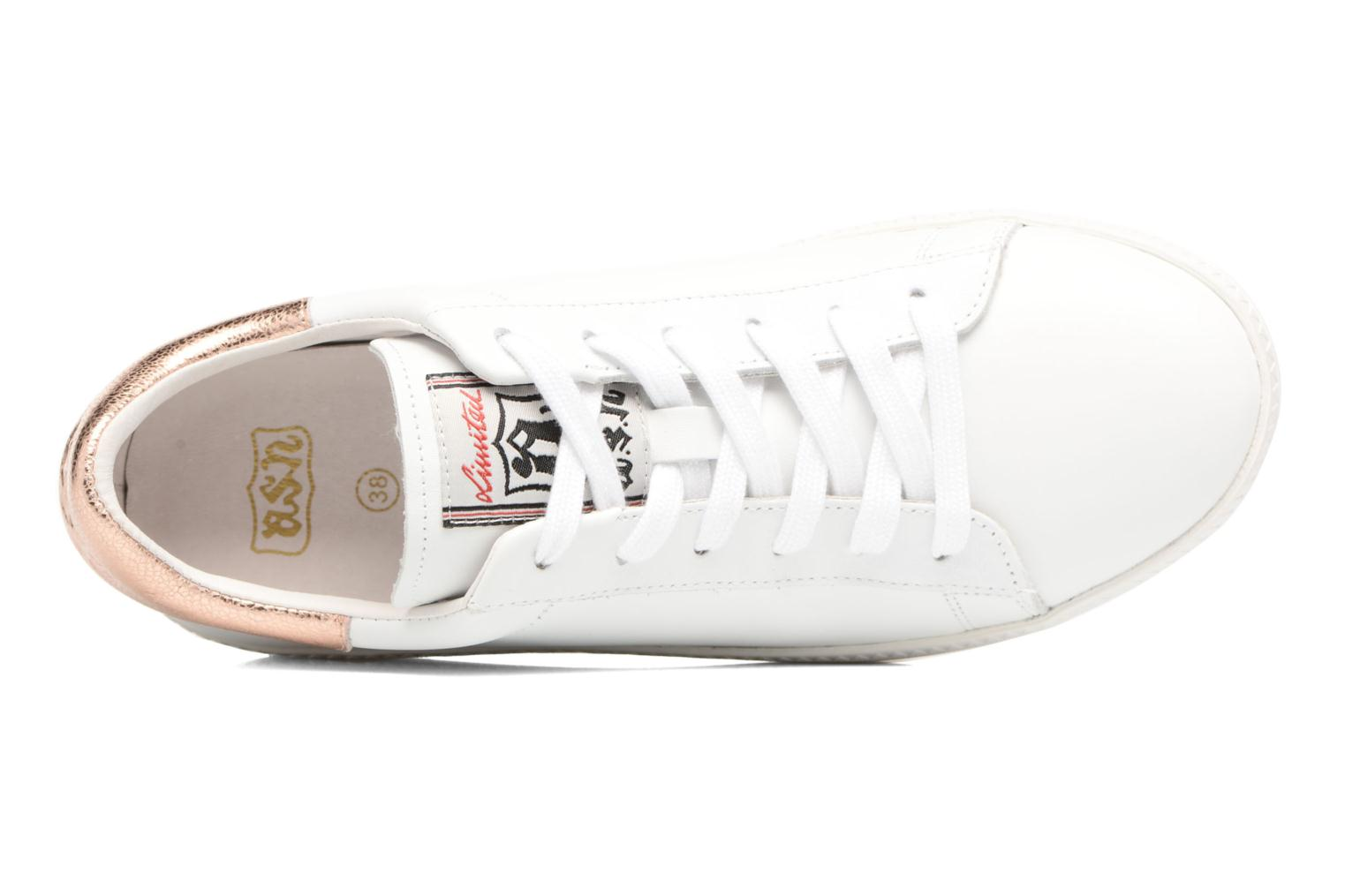 Cult Combo E Nappa Calf White / Metal Rock Rame