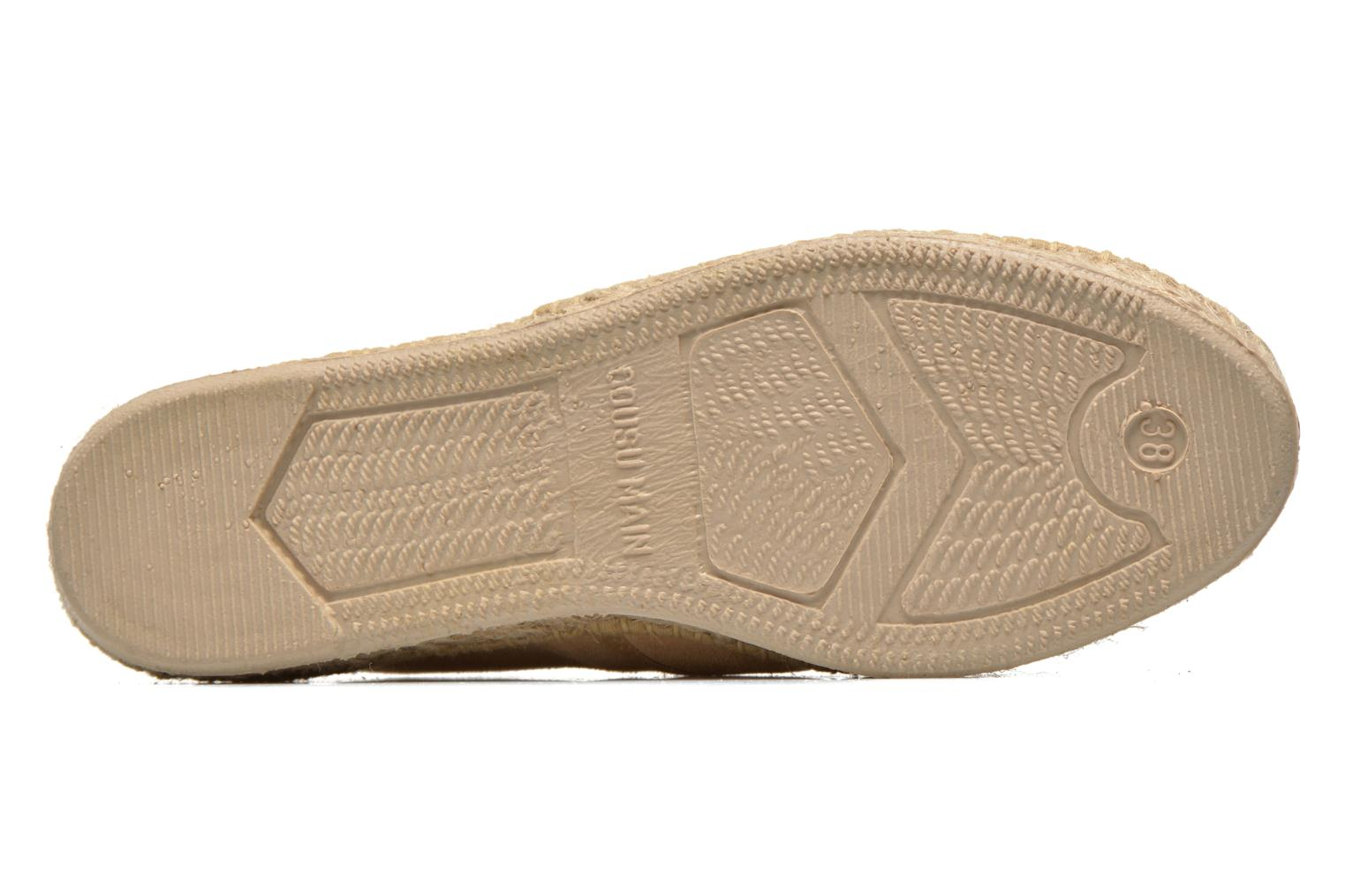 Lace-up shoes Pare Gabia Ictum croûte Beige view from above