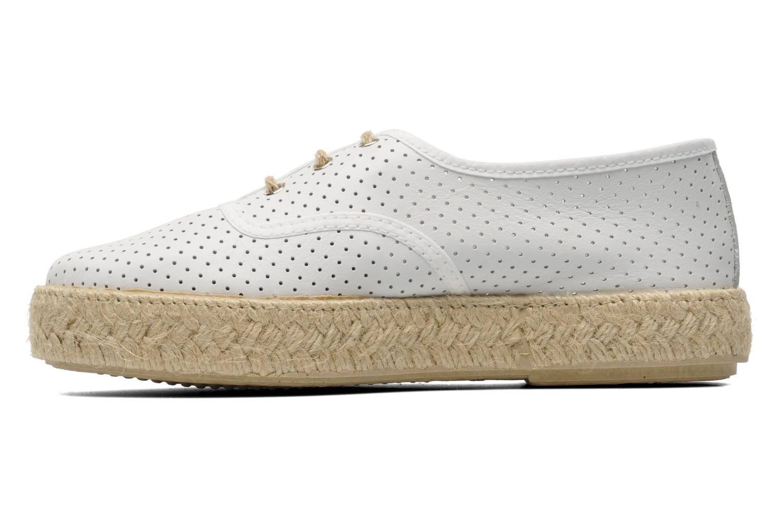 Lace-up shoes Pare Gabia Lotus cuir White front view
