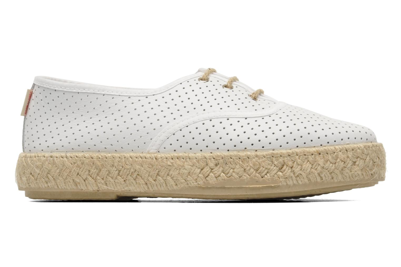 Chaussures à lacets Pare Gabia Lotus cuir Blanc vue derrière