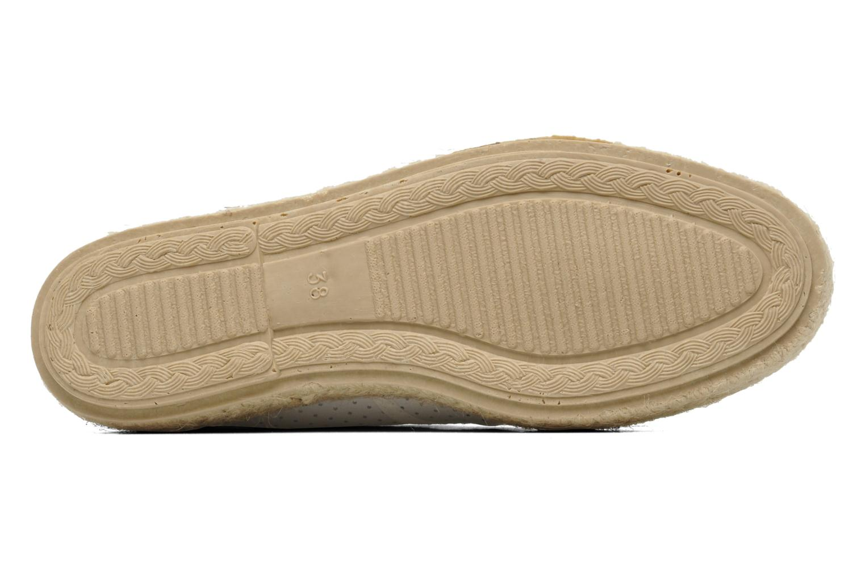 Schnürschuhe Pare Gabia Lotus cuir weiß ansicht von oben