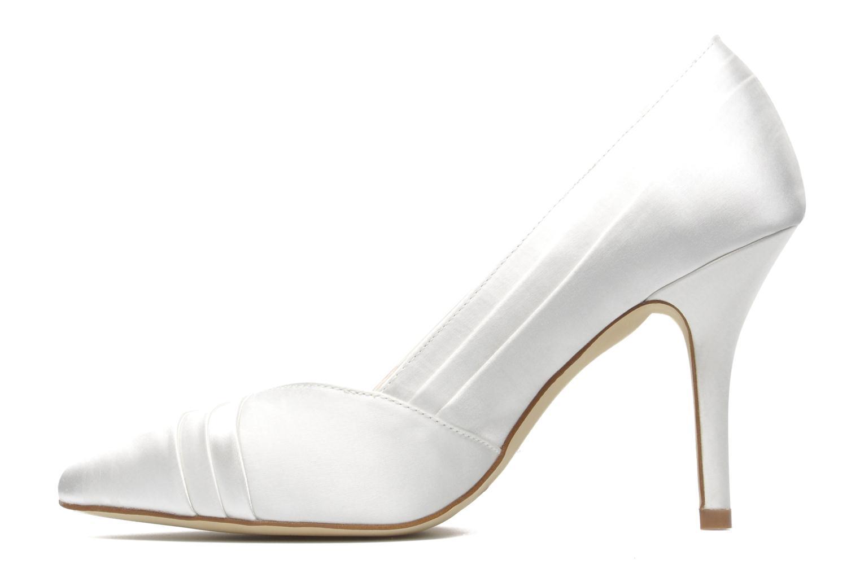 Zapatos de tacón Menbur Mare Blanco vista de frente