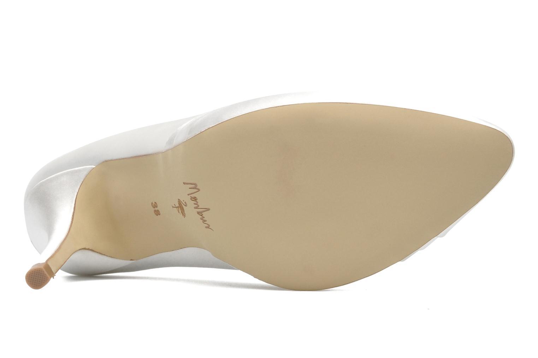 Zapatos de tacón Menbur Mare Blanco vista de arriba